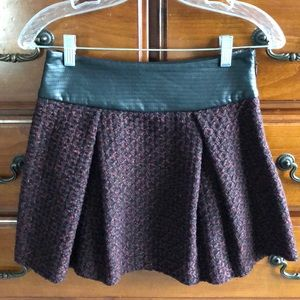 BCBG High Waist Mini Skirt Size 0